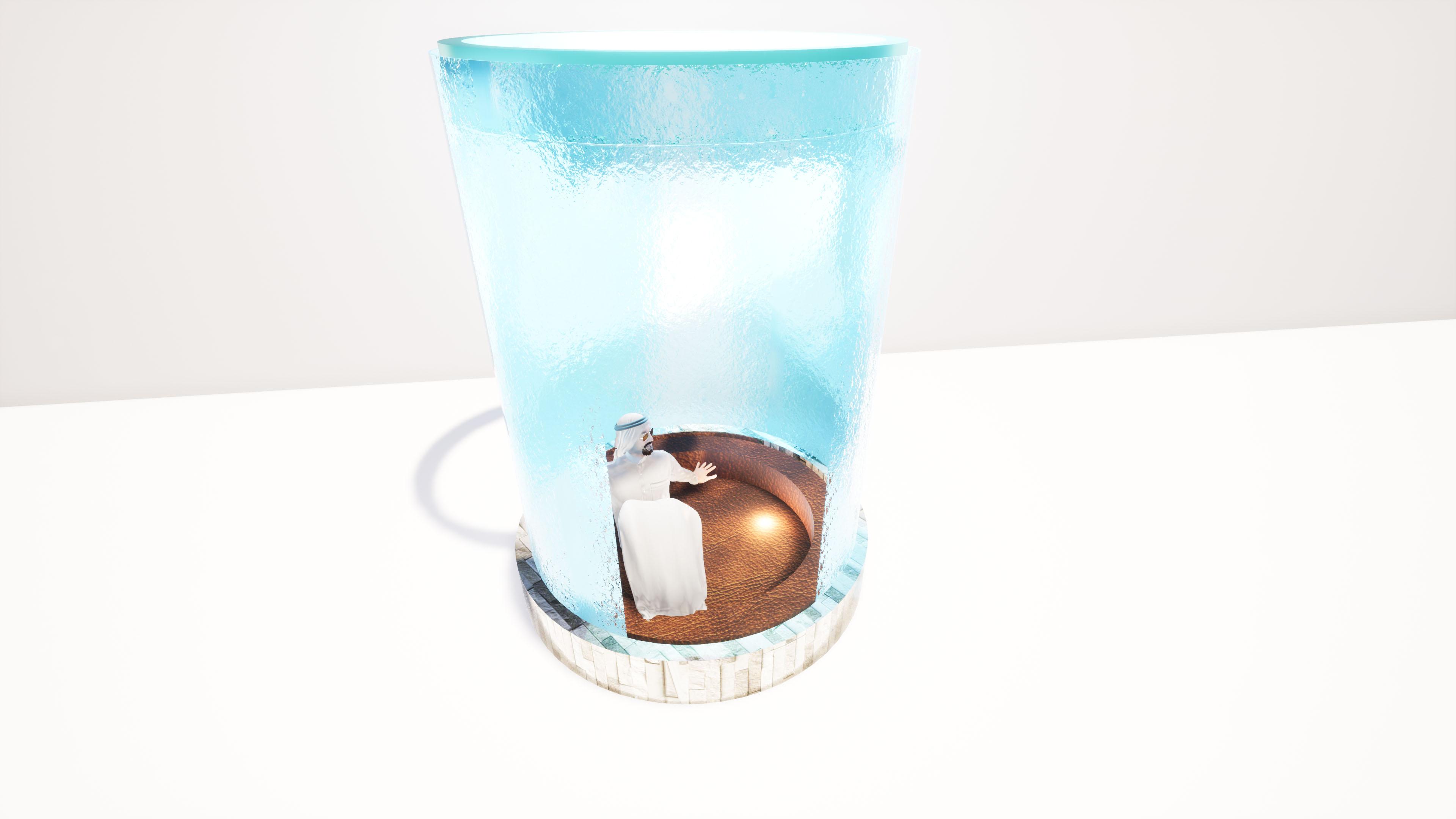 Water cube design