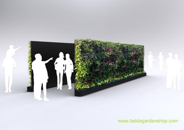Vertical wall garden for rent